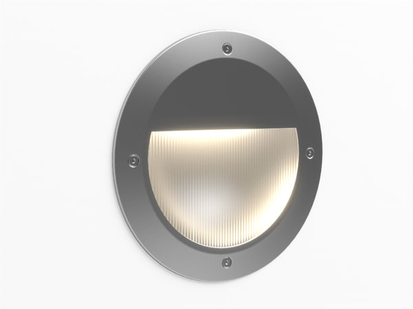 3d model erco visor floor washlight