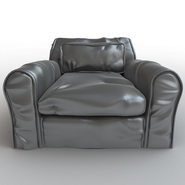 armchair leather arm max