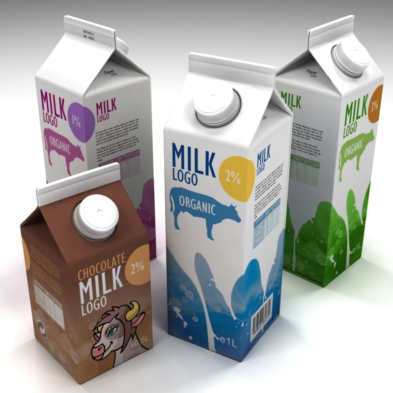 3ds milk boxes