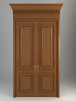 3d model door wood wooden