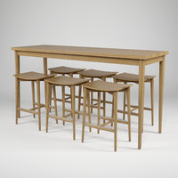 jonas oak hb-505 table 3d model