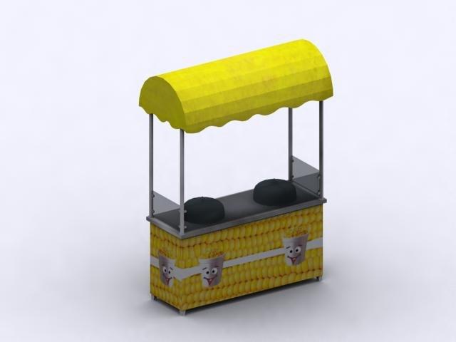3d max corn stand