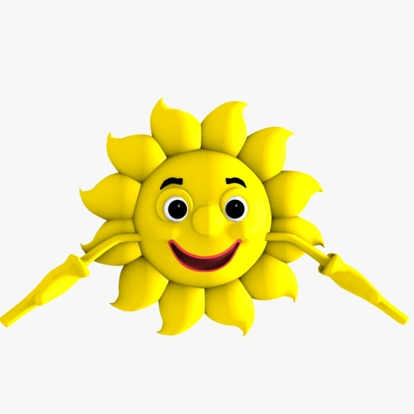 sun character 3ds