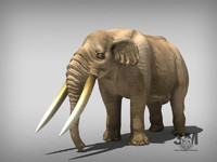 mastodon mastodonte 3d max