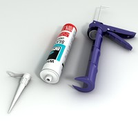 Silicone Tube and Gun