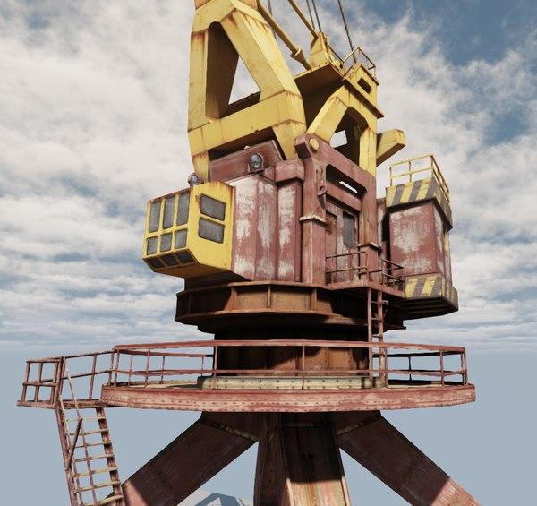 soviet crane max