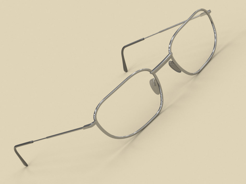 3d model eye eyewear
