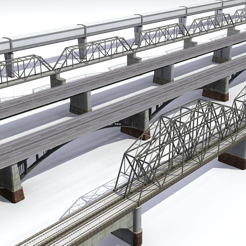 bridge highway 3d lwo