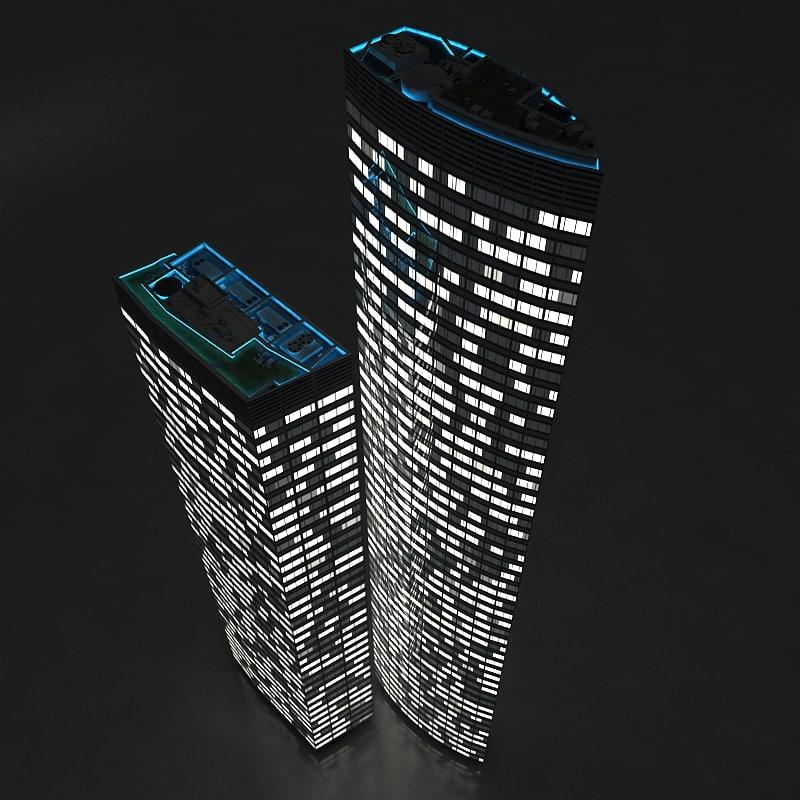 night 3d model