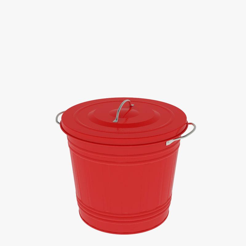 3ds bucket lid