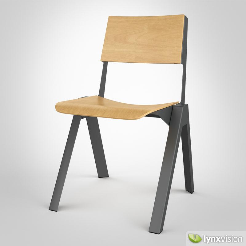 3ds max uniform chair