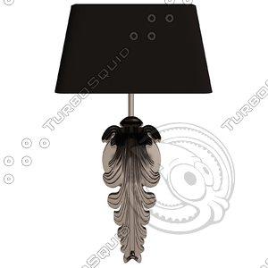 eichholtz lamp wall beau 3d model