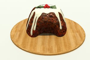 3ds christmas pudding