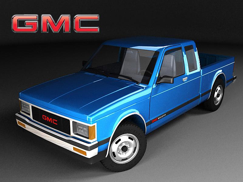 3d model gmc sonoma cab mk1