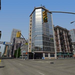 city building details model