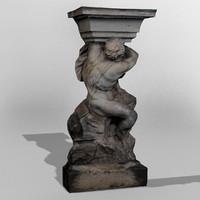 Dresden Statue Pan 05