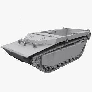 lvt-4 buffalo 3d model