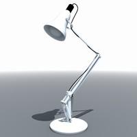 metal desk lamp 3ds