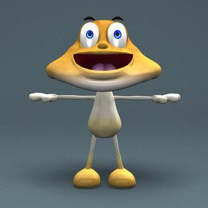 maya mushrooms character