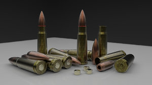 bullet world war 3d obj