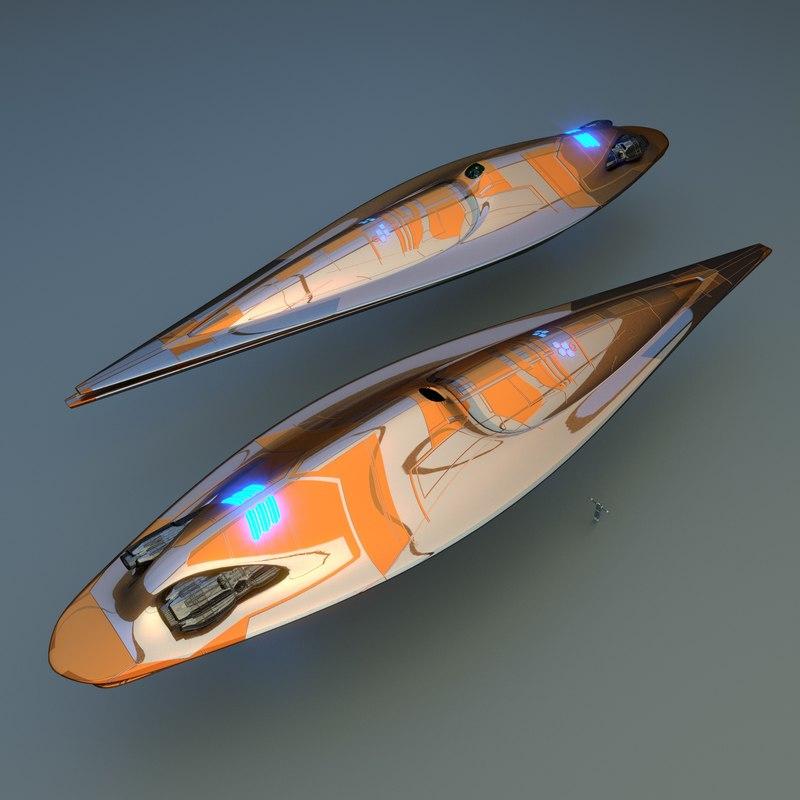 ship 3d blend