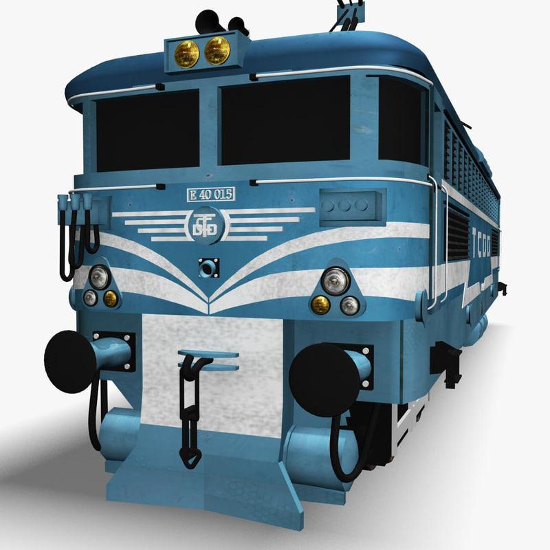 train engine 3d 3ds