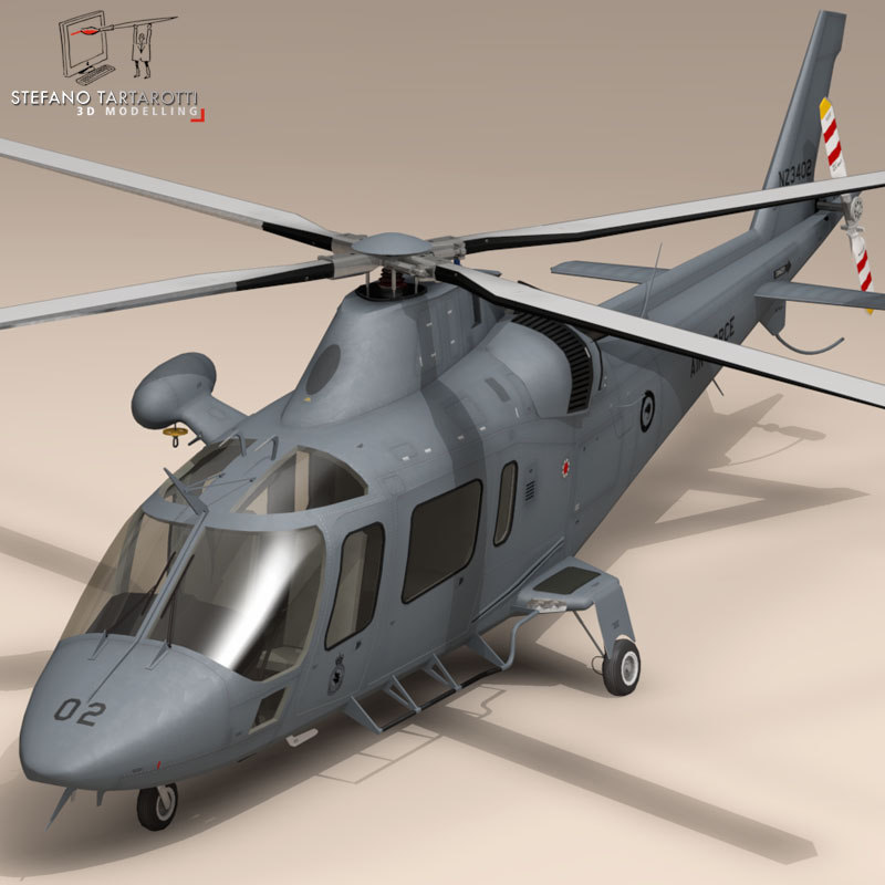aw109 helicopter agusta obj