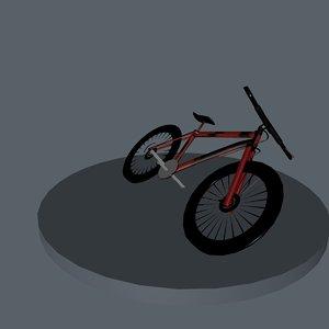 3d model bicicleta