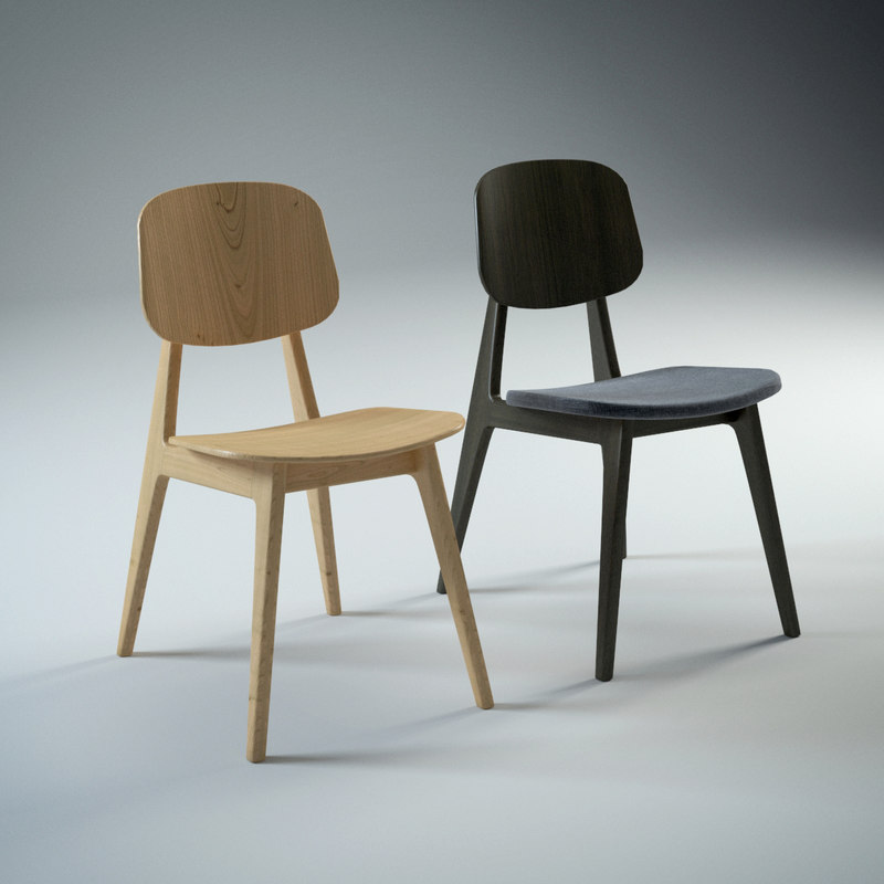 chairs 3d max