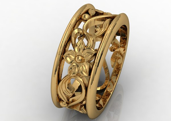 3ds max gold band