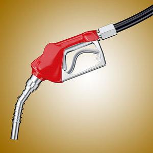 3d gasoline pump model