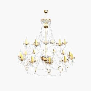 3d chandelier andrea big