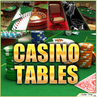 Casino Tables (Roulette Poker Blackjack)
