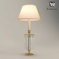 baker dauphine lamp 3d model