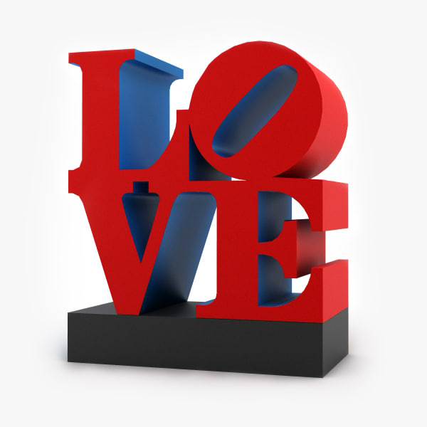 love sculpture max
