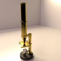 Antique Microscope