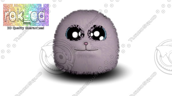 puf puffy 3d model