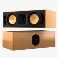 3d klipsch reference rc62 model