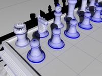 maya chessboard chess