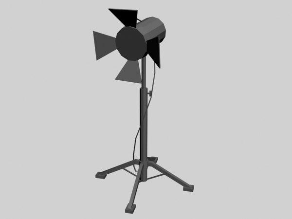 free 3ds model spotlight s