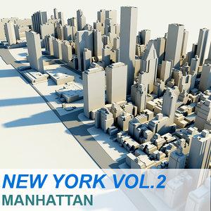 new york manhattan vol 3d c4d