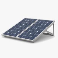 solar panels 3d max