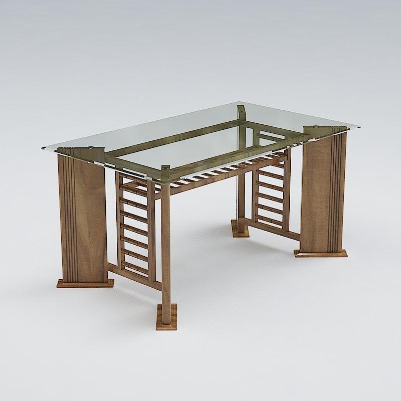 3d model table hdri