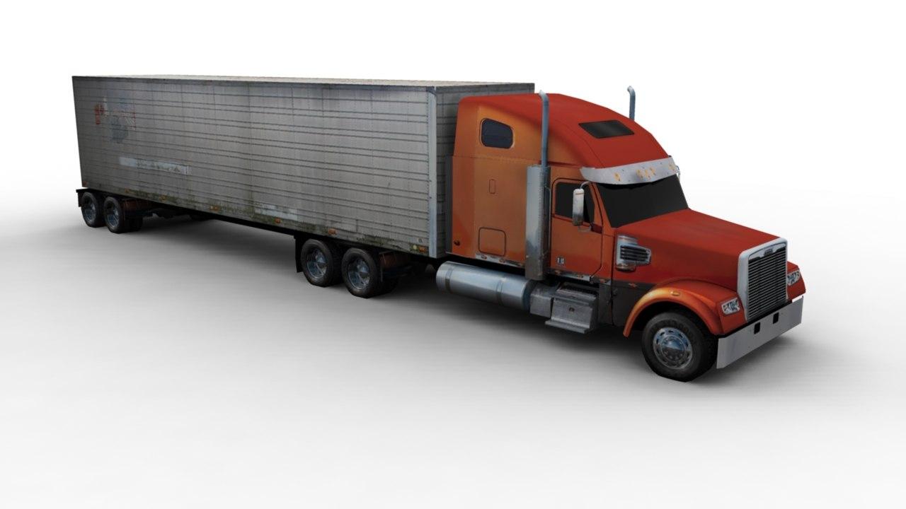 truck 3d obj