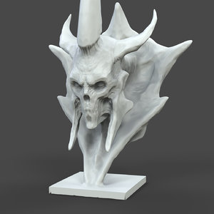 undead bust model