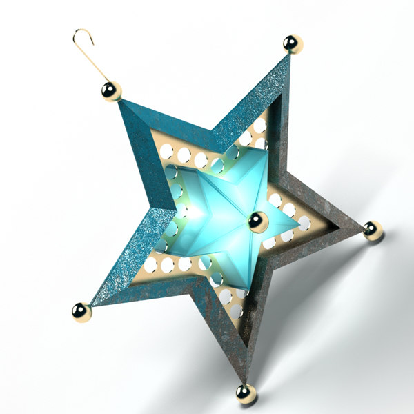 ornaments star dwg