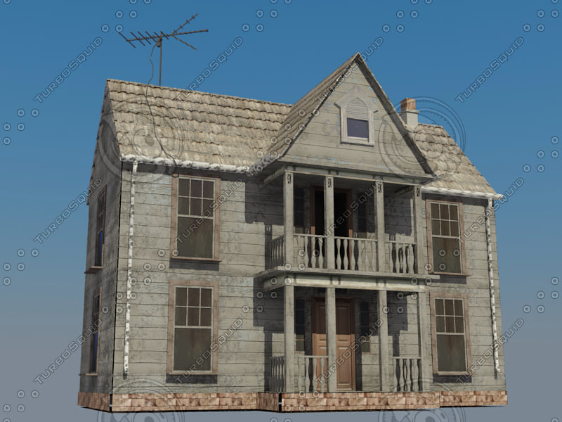 3d model mansion