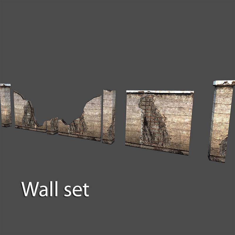 max wall set