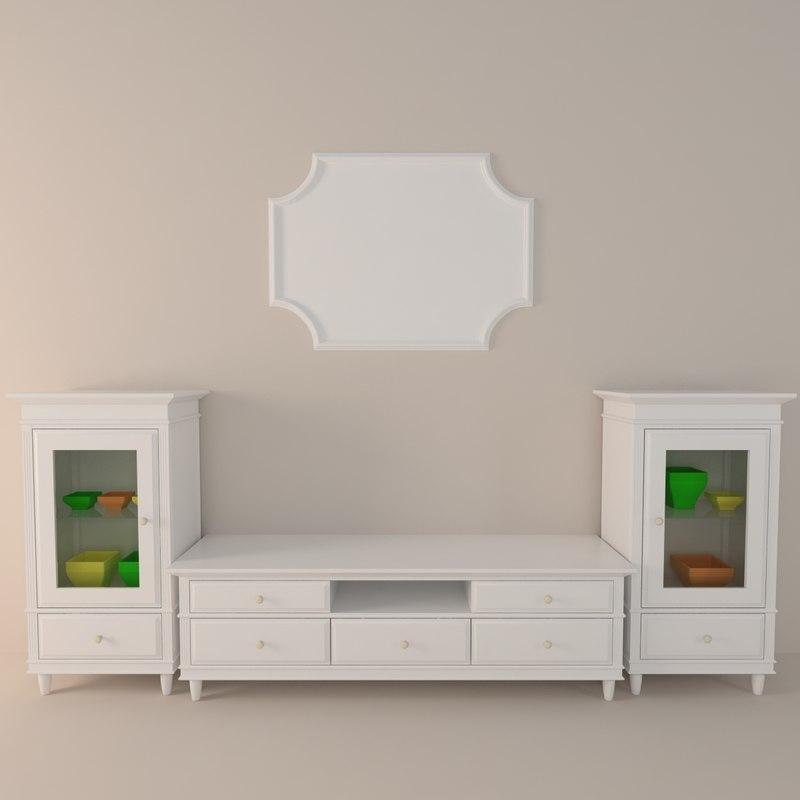 3ds classic tv furniture