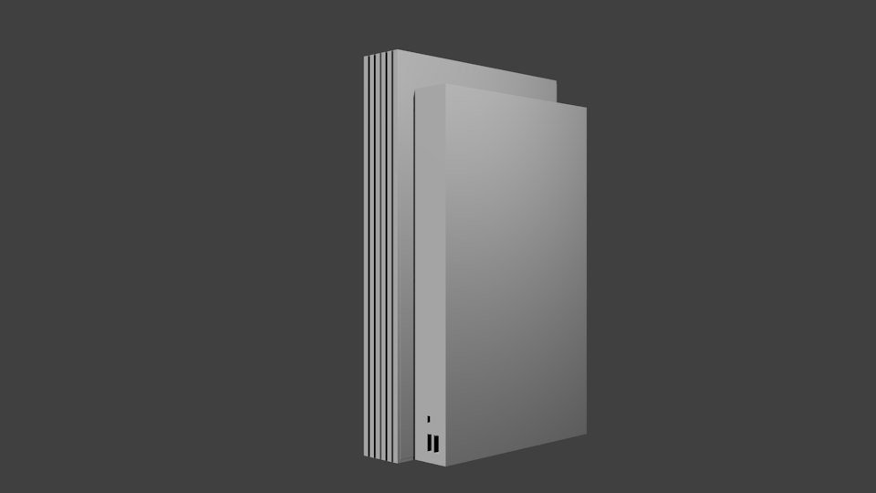 3d blend sony playstation 2